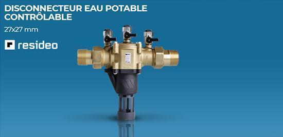Disjoncteur eau potable Resideo