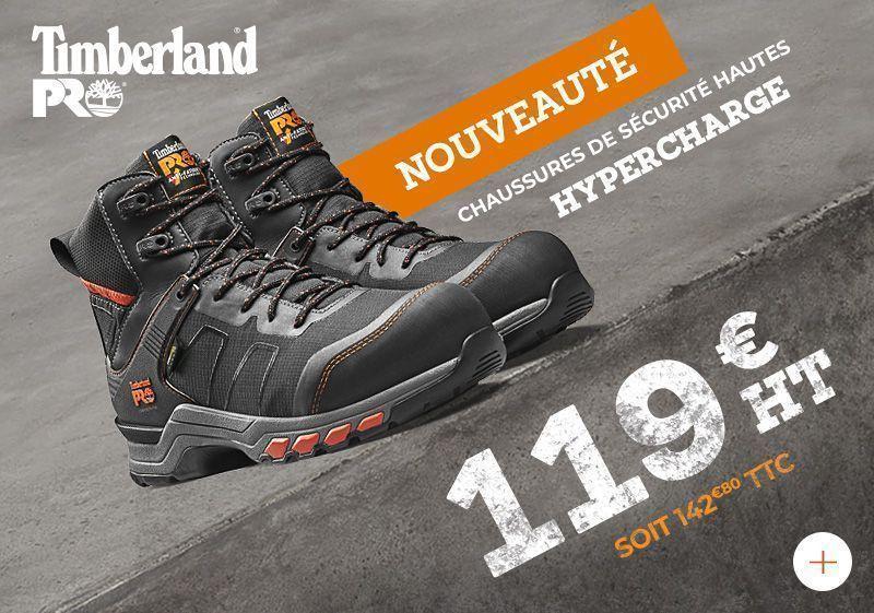 Promotion paire de chaussures de sécurité TIMBERLAND Hypercharge